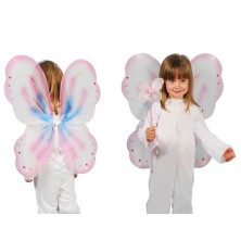 Ružová motýlie krídla