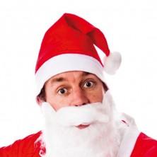 Čiapočka Santa s fúzy