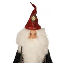 Pirátsky klobúk červený