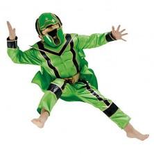 Kostým Power Ranger Green Boxset - licenčný kostým