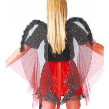 Čierna krídla 60 cm