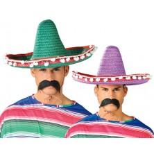 Mexický klobúk s pomponem