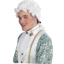 Mozart - bílá paruka