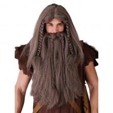 Parochňa viking s fúzy