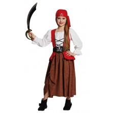 Pirátka - detský kostým