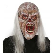 Maska zombie s otvorenými ústami