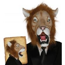 Latexová maska leva