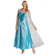 Elsa Deluxe (Frozen) kostým pre dospelých