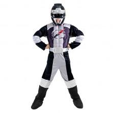 Power Ranger Black Muscle Chest S - licenčný kostým