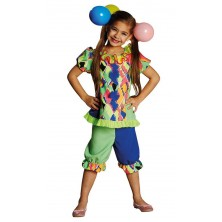 Klaun dievčenský kostým