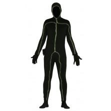 Čierna silueta so svetelným efektom - muž