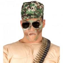 Vojenská maskáčová čiapka