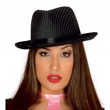 Borsalino - gangsterský prúžkovaný klobúk