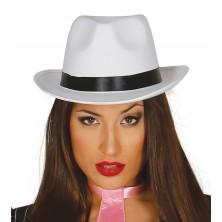 Borsalino - gangsterský klobúk biely