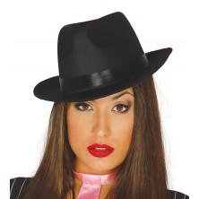Borsalino - gangsterský klobúk čierny