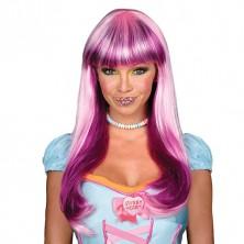 Candy Babe Wig pink - parochňa