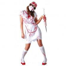 Kostým zdravotná sestra - ZOMBIE
