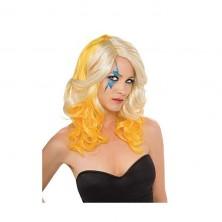 Lady Gaga Blond / Yelloe 2-Tone Wig - licenčná parochňa