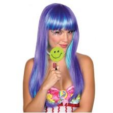 Candy Babe Wig lilla - parochňa