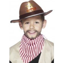 Klobúk s šerifskú hviezdou