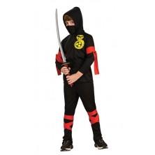 Kostým Ninja 6-dielny