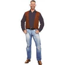 Kovbojská vesta pre dospelých
