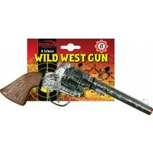Kovová pištoľ Rapido - 8 rán