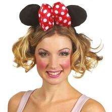 Minnie - veľká čelenka s mašľou