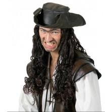 Pirátska parochňa s klobúkom