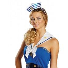 Vlasová spona s námorníckym klobúčikom