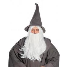 Kúzelník - parochňa s fúzy