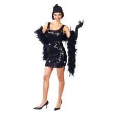 Charleston - čierne šaty