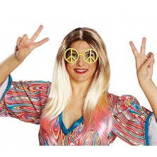 Okuliare Hippie s kamienkami