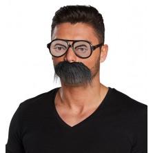 Okuliare s fúzy - set
