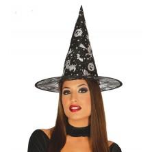 Čarodejnícky klobúk s potlačou
