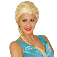 Parochňa Princesa blond s vrkočom
