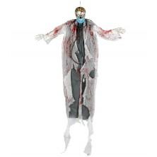 Deko zombie - závesné strašidlo