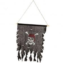 Pirátska vlajka 48 cm
