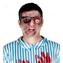 Horor okuliare s vypadnutým okom