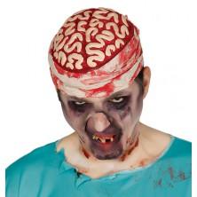 Krvavý mozog s obväzom