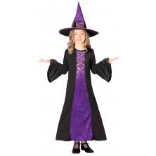 Kostým fialová čarodejnice
