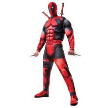Deluxe Fiber Filled Deadpool - licenčný kostým