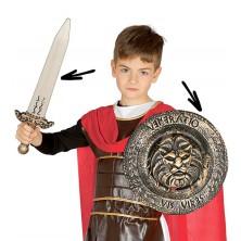 Detský rytiersky set - meč a štít