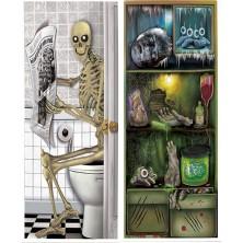 Dekorácia na dvere sort. - Halloween 1 ks