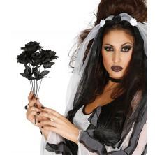 Kytica černých ruží