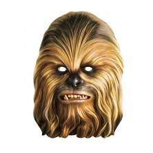 Chewbacca - kartónová maska pre dospelých