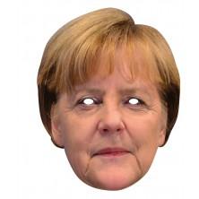 Angela Merkelová - kartónová maska pre dospelých