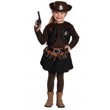 Malá kovbojka - kostým
