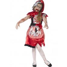 Detský kostým zombie Čiapočky
