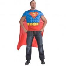 Superman - svalnaté tričko s plášťom - licenčný kostým